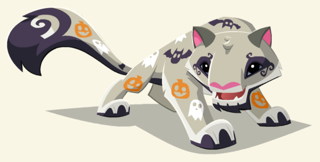 Spooky Snow Leopard.