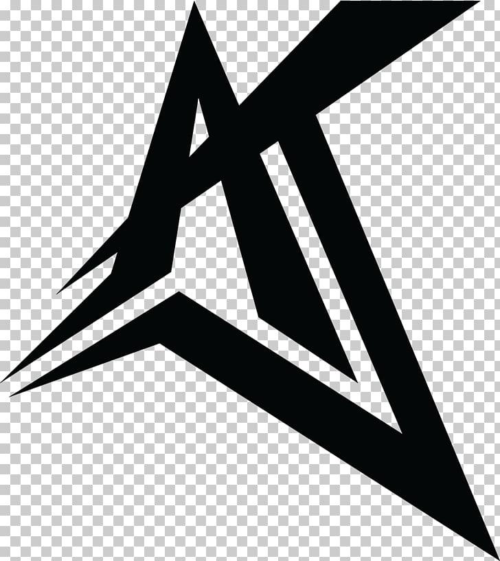 Logo Disc jockey Graphic design, aj styles, black A letter.