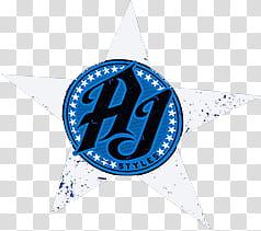 AJ Styles Untouchable Logo transparent background PNG.