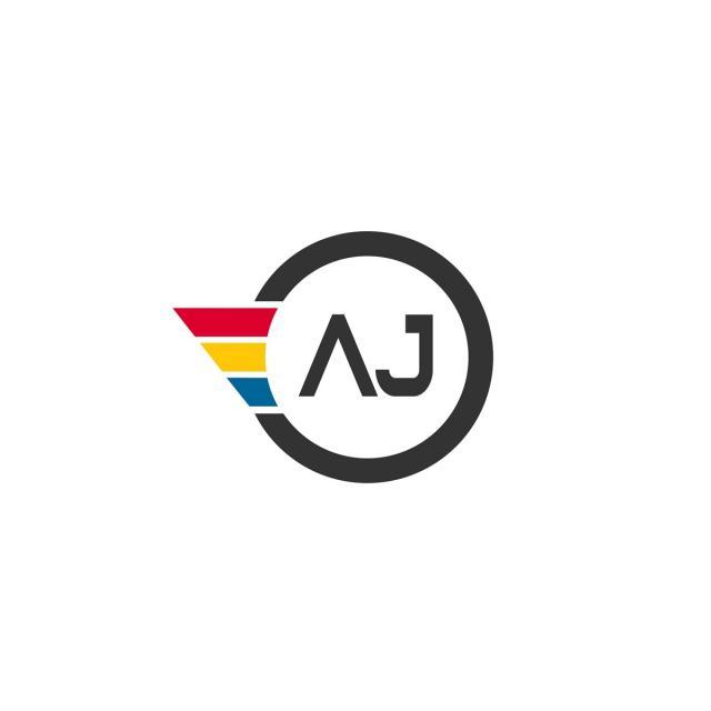 Letter AJ Logo Design Template for Free Download on Pngtree.