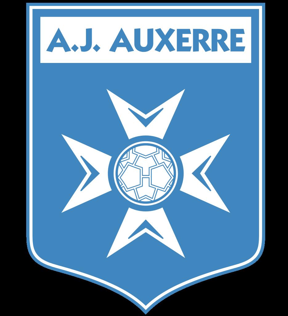 Aj Auxerre Logo transparent PNG.