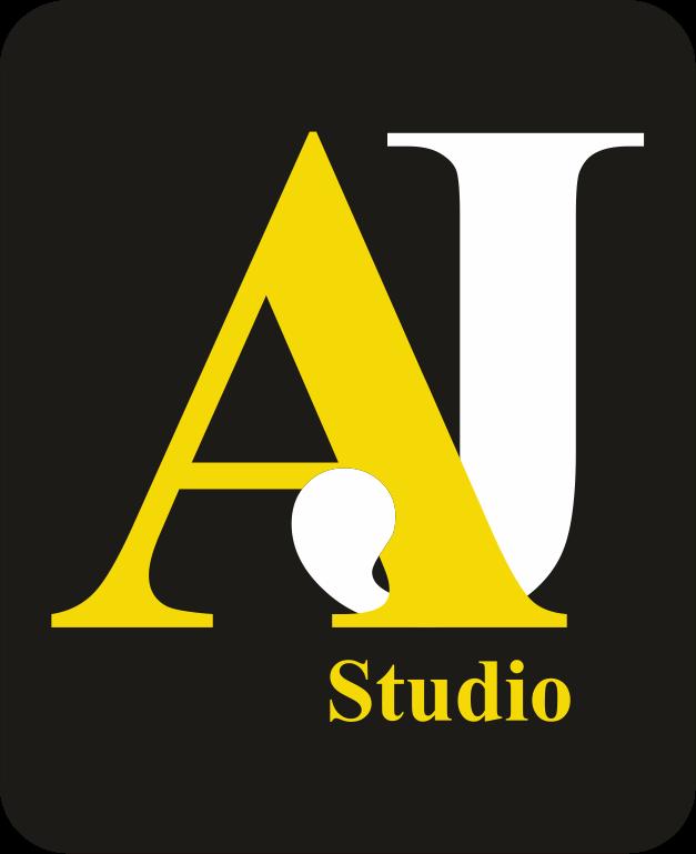 AJ STUDIO: AJ STUDIO LOGO.