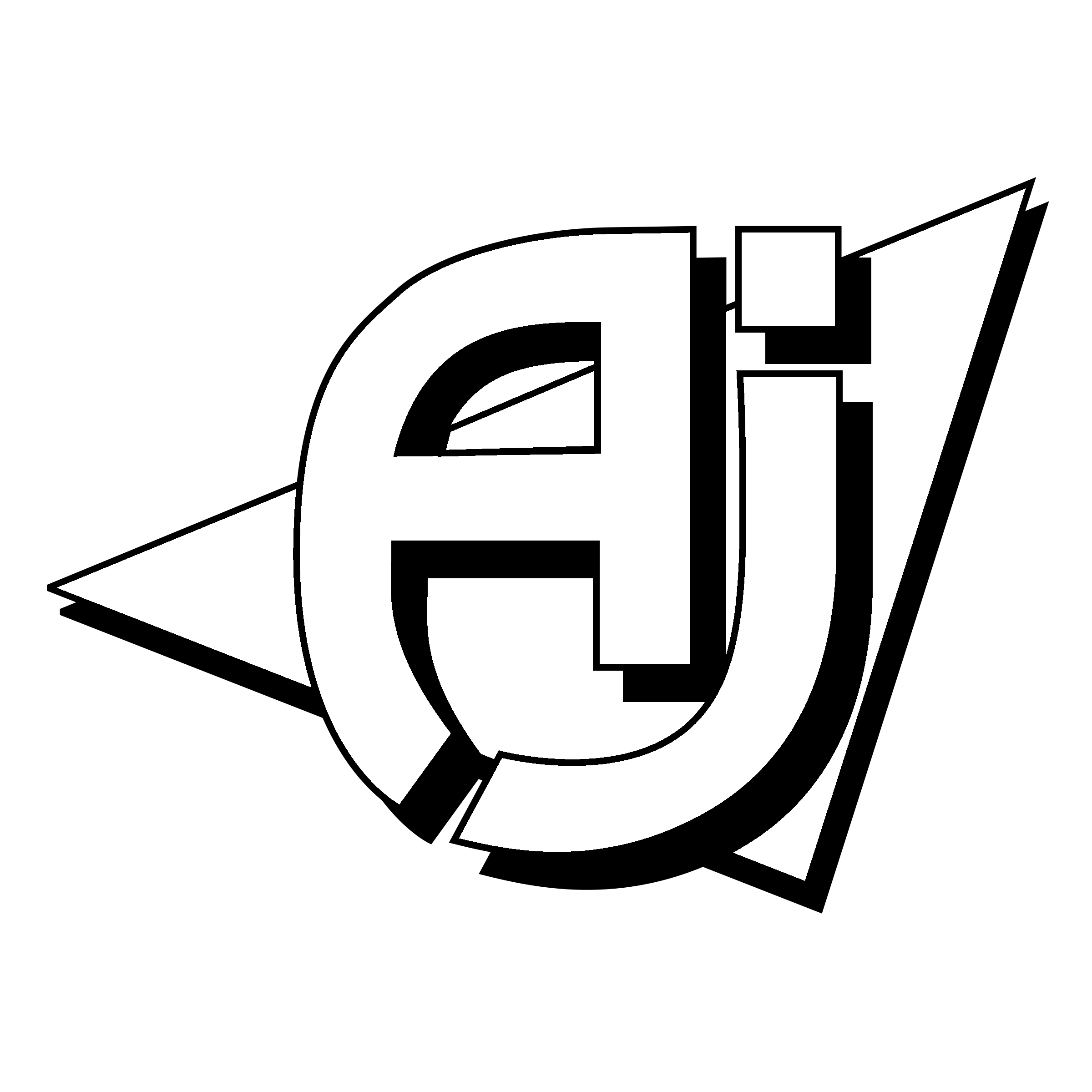 AJ Logo PNG Transparent & SVG Vector.