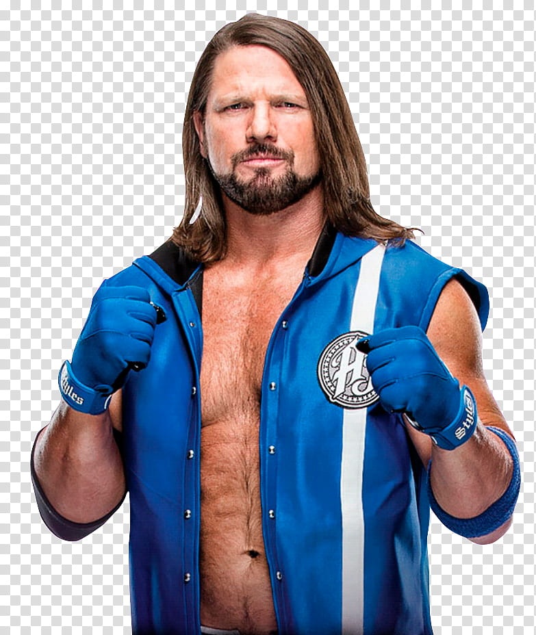 WWE AJ Styles transparent background PNG clipart.