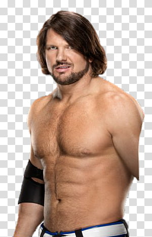 AJ Styles transparent background PNG clipart.