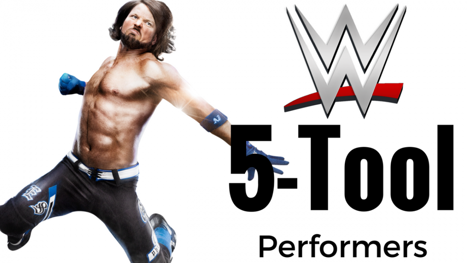 AJ Styles And The WWE's 18 Active 5.