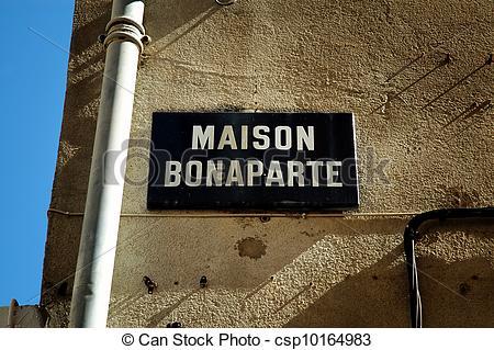 Pictures of The birthplace of Napoleon Bonaparte in Ajaccio.