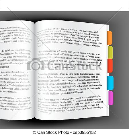 Ajar page Vector Clipart EPS Images. 15 Ajar page clip art vector.