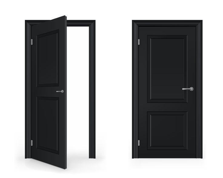 Ajar Door Clipart.