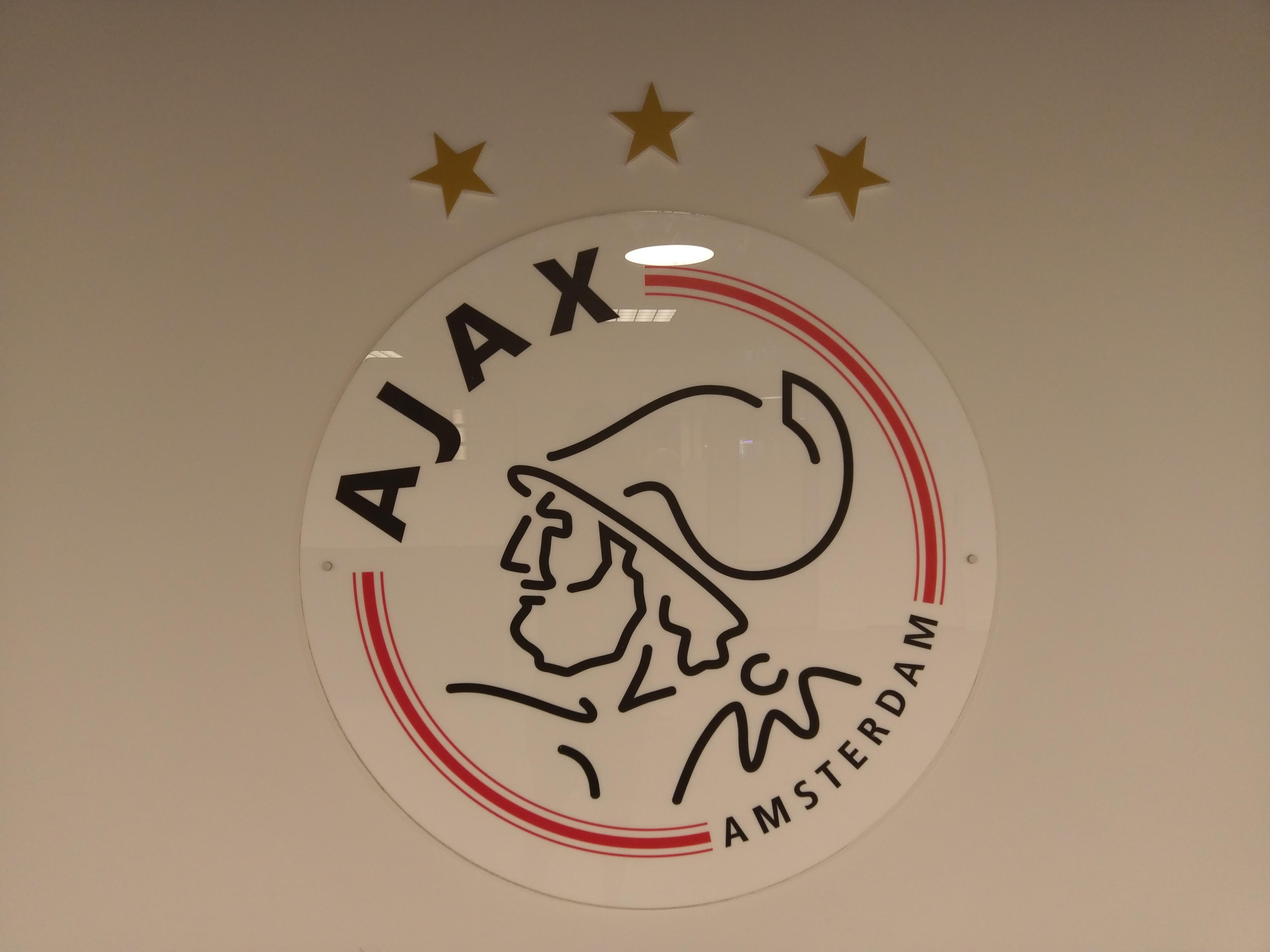 File:AFC Ajax logo inside Amsterdam Arena.jpg.