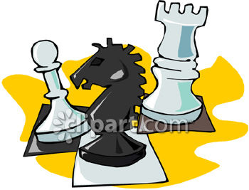 Game and chess clipart image.