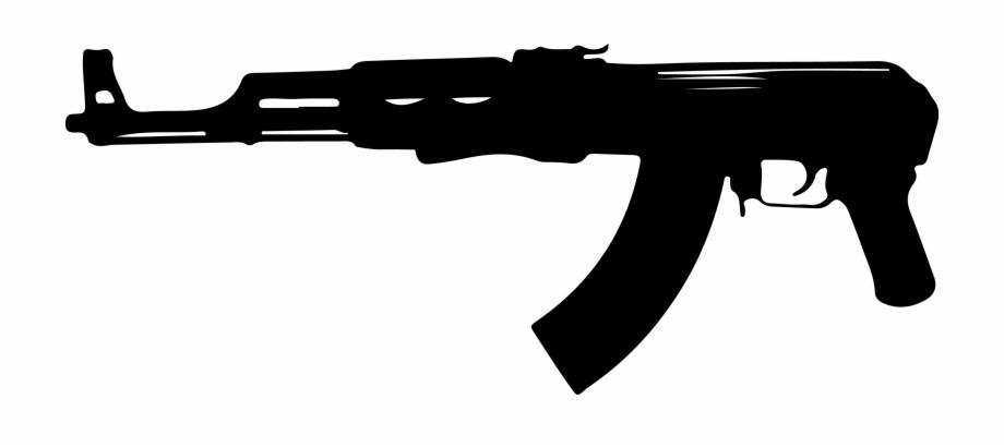 Gun Clipart Ak 47.