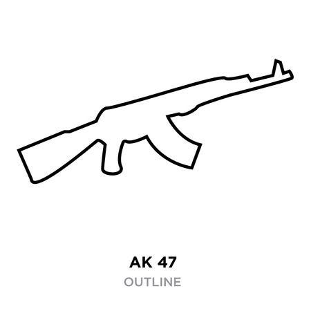 Ak47 Ak 47 Stock Vector Illustration And Royalty Free Ak47 Ak 47 Clipart.