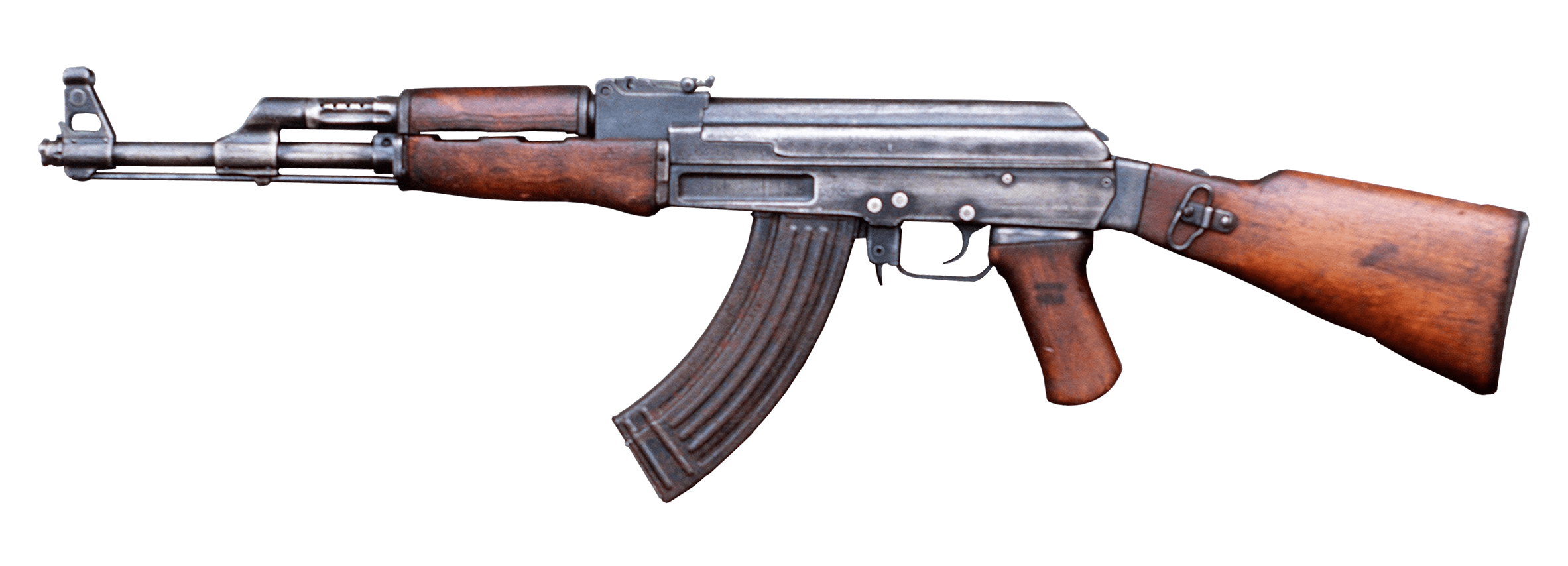 AK 47 transparent PNG.