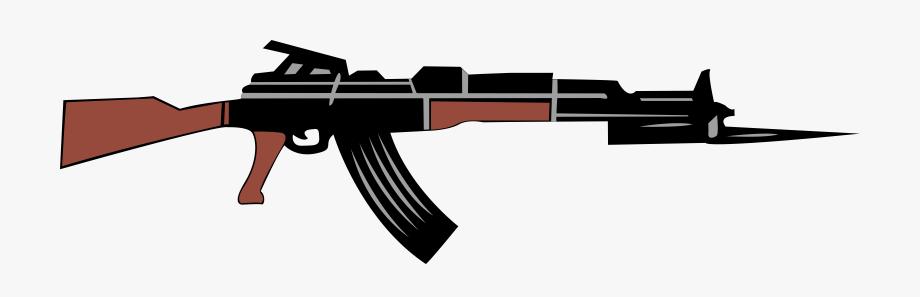 Ak47 Drawing Clip Art.