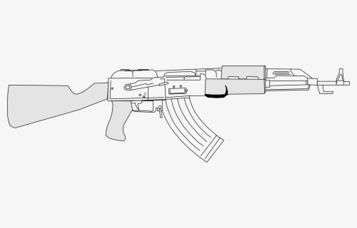 Free Ak 47 Clip Art with No Background.