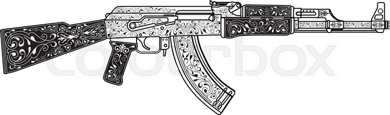 Vector Ak47 at GetDrawings.com.