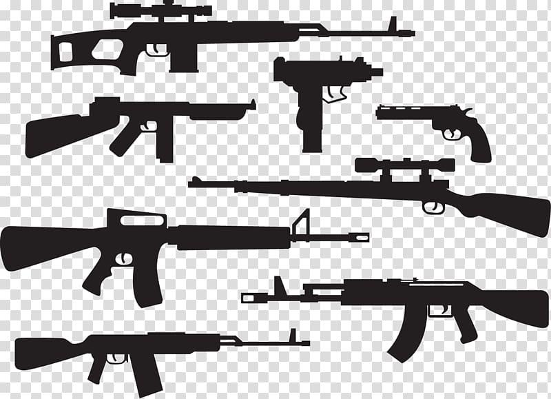 M16 rifle AK.