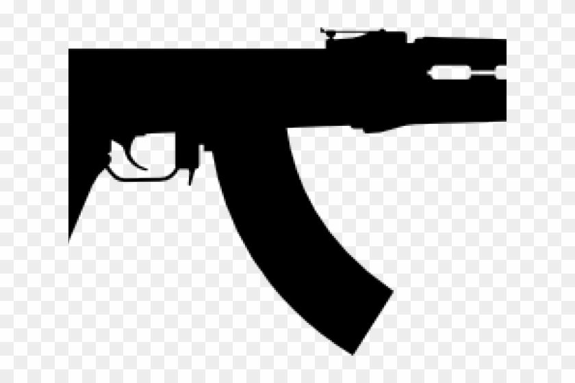 Rifle Clipart Ak47.