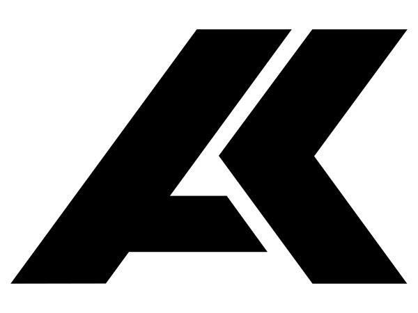 ak logo design.