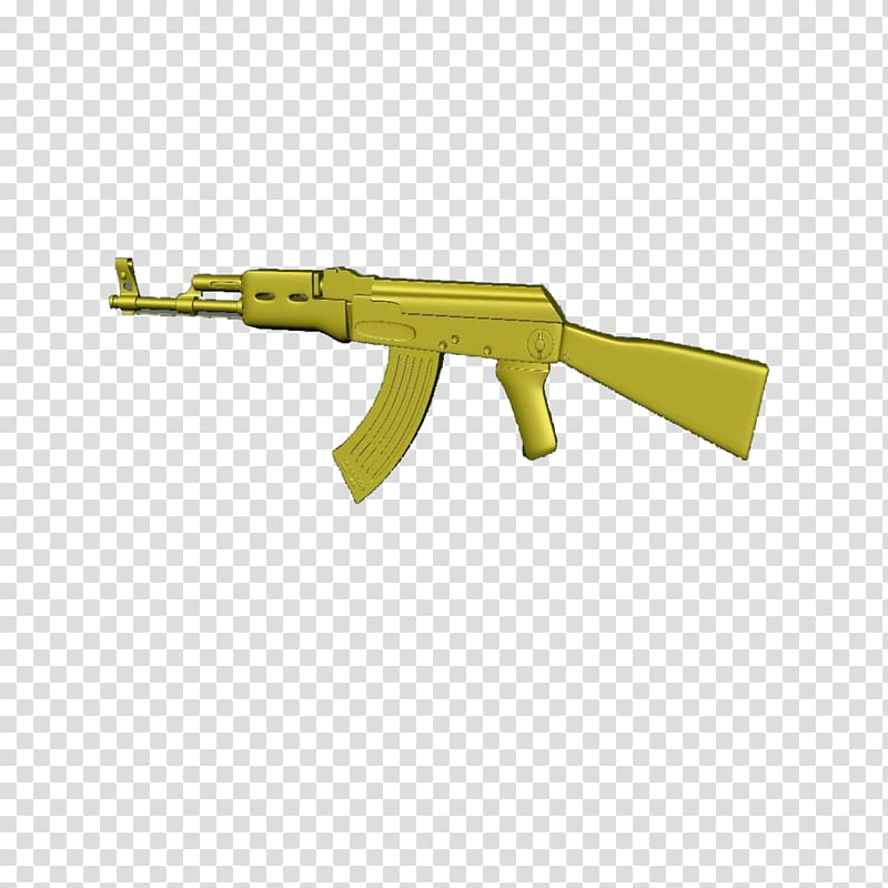 Assault rifle Firearm AK.