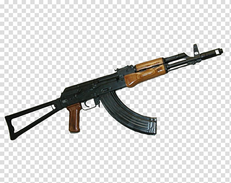 Assault rifle AK.