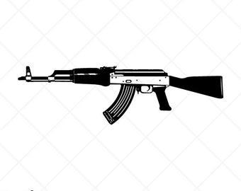 Ak47 clipart.