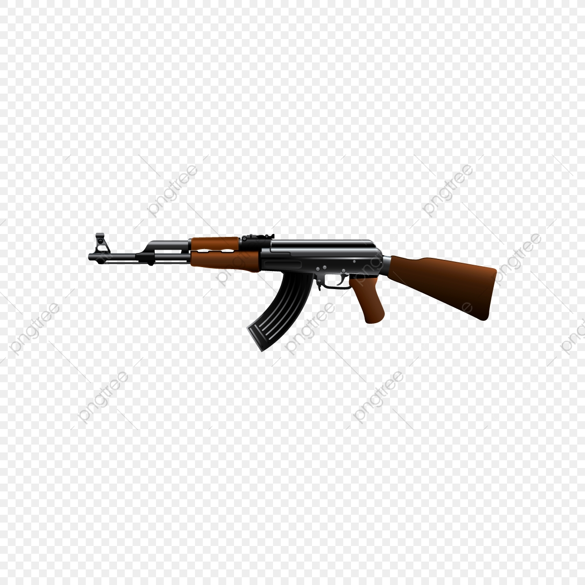 Ak47 Guns, Ak47, 47, Gun PNG Transparent Clipart Image and PSD File.