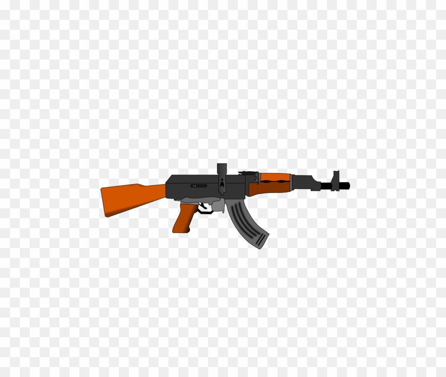 Ak 47 Dibujo PNG Assault Rifle Ak.