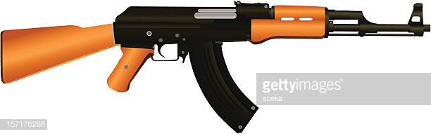 60 Top Ak 47 Stock Illustrations, Clip art, Cartoons and Icons.