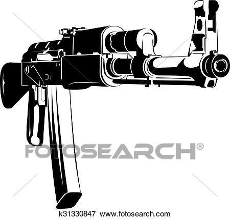 Ak47 clipart 4 » Clipart Portal.