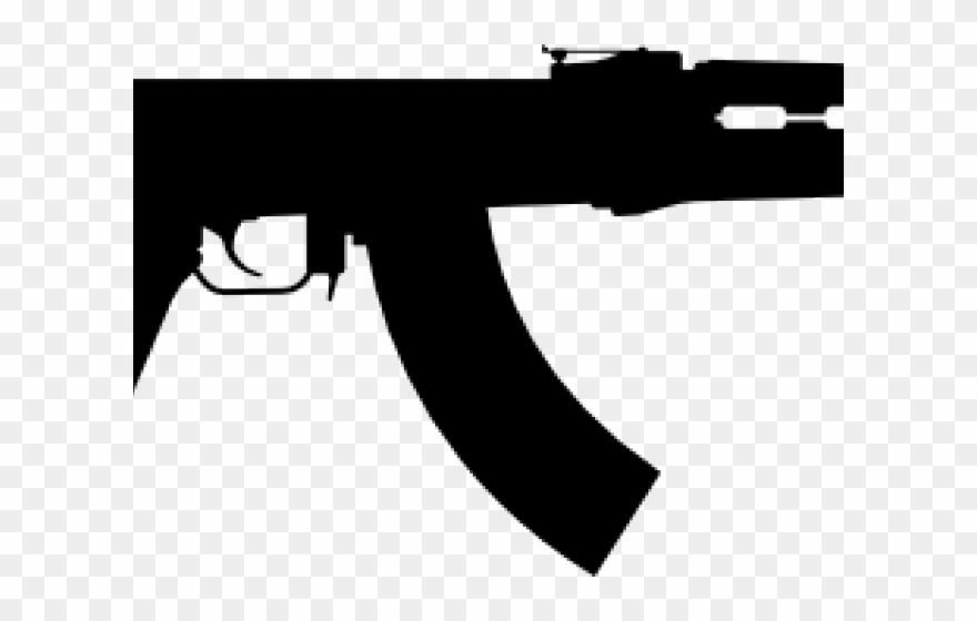Rifle Clipart Ak47.