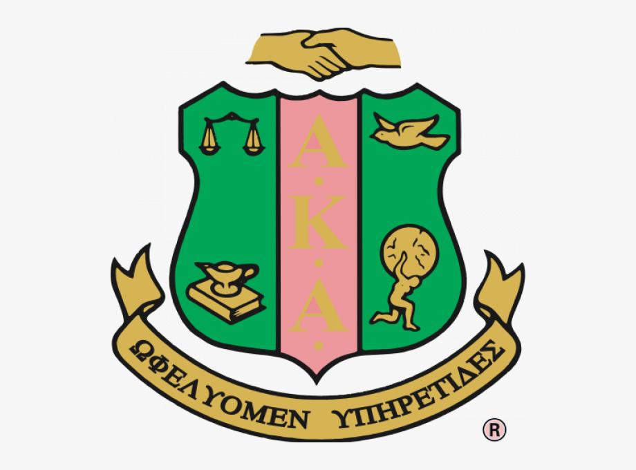 Alpha Kappa Alpha Sorority Crest.
