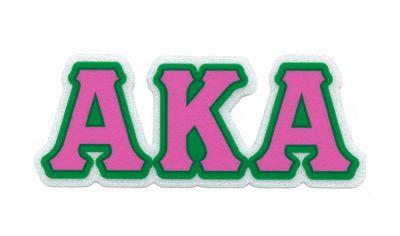 Alpha Kappa Alpha.