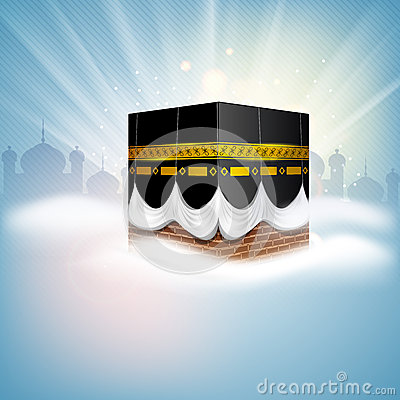 Beautiful kaaba clipart.