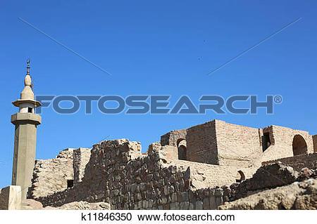 Stock Photography of Aqaba Fort Jordan k11846350.