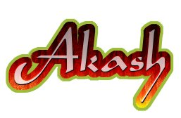 Akash logo. Free logo maker..