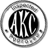 AKC logo.