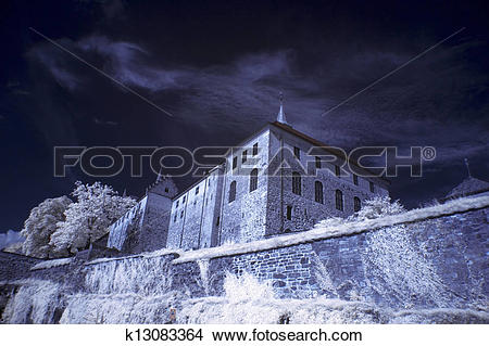 Stock Photo of Akershus Fortress in Oslo, Norway k13083364.