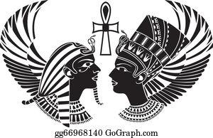 Akhenaten Clip Art.
