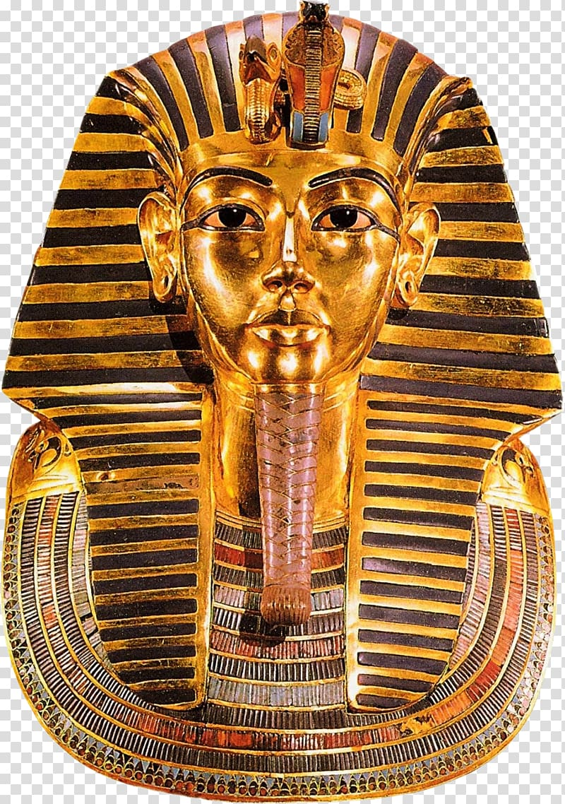 Art of ancient Egypt Begravningsmask New Kingdom of Egypt.