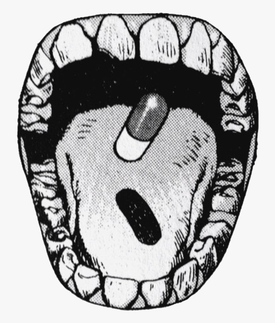 Transparent Akira Pill Png.