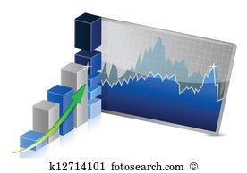 Aktien Clip Art Lizenzfrei. 112.516 aktien Clipart Vektor EPS.