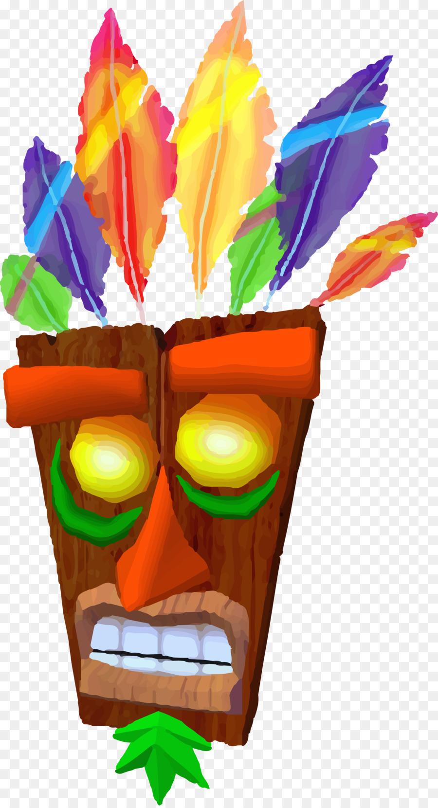 crash bandicoot aku aku png clipart Crash Bandicoot N. Sane.