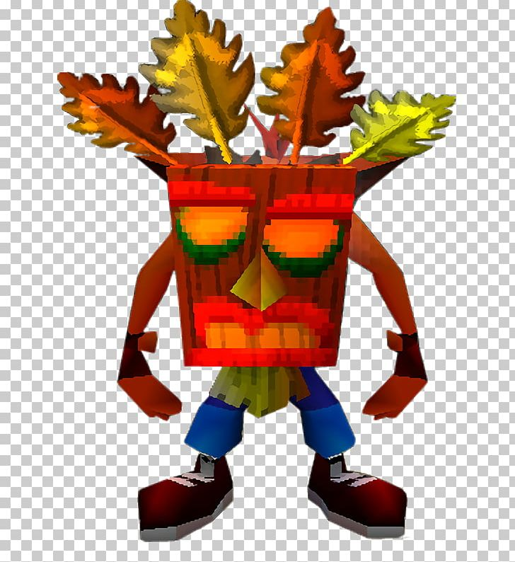 Crash Bandicoot: Warped Crash Team Racing Aku Aku PNG.