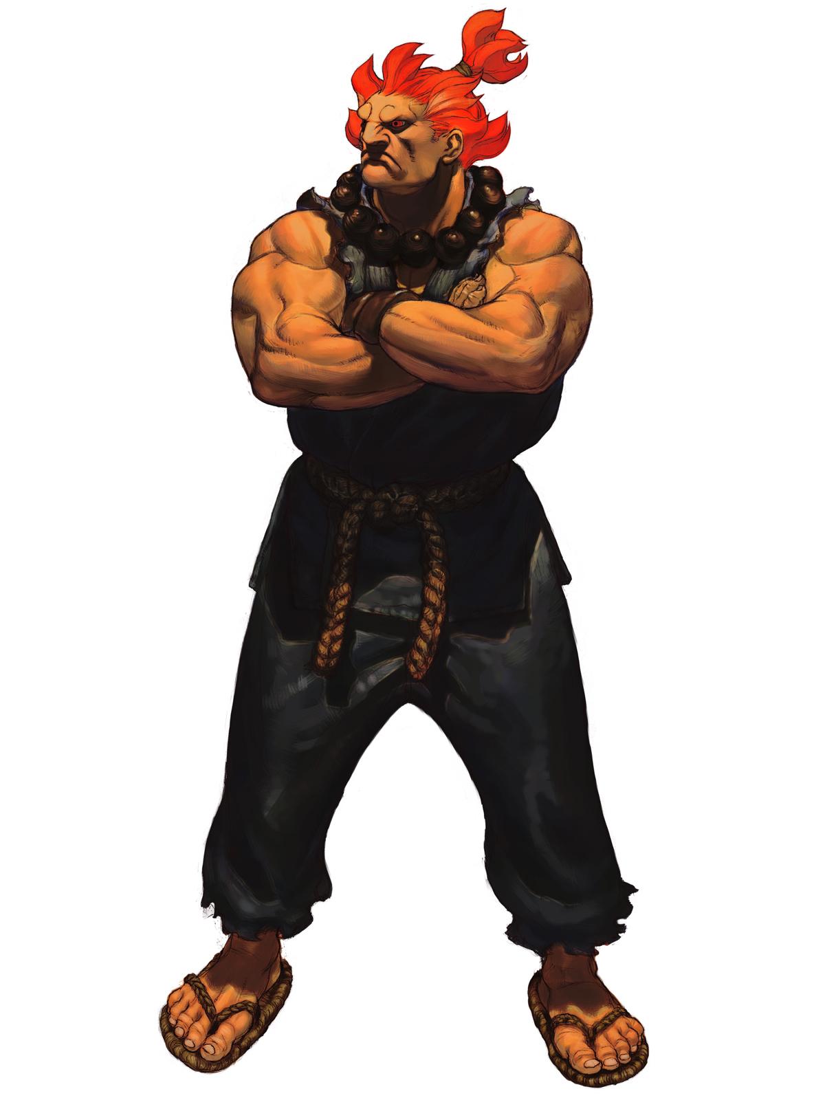 Street Fighter Akuma Clipart.