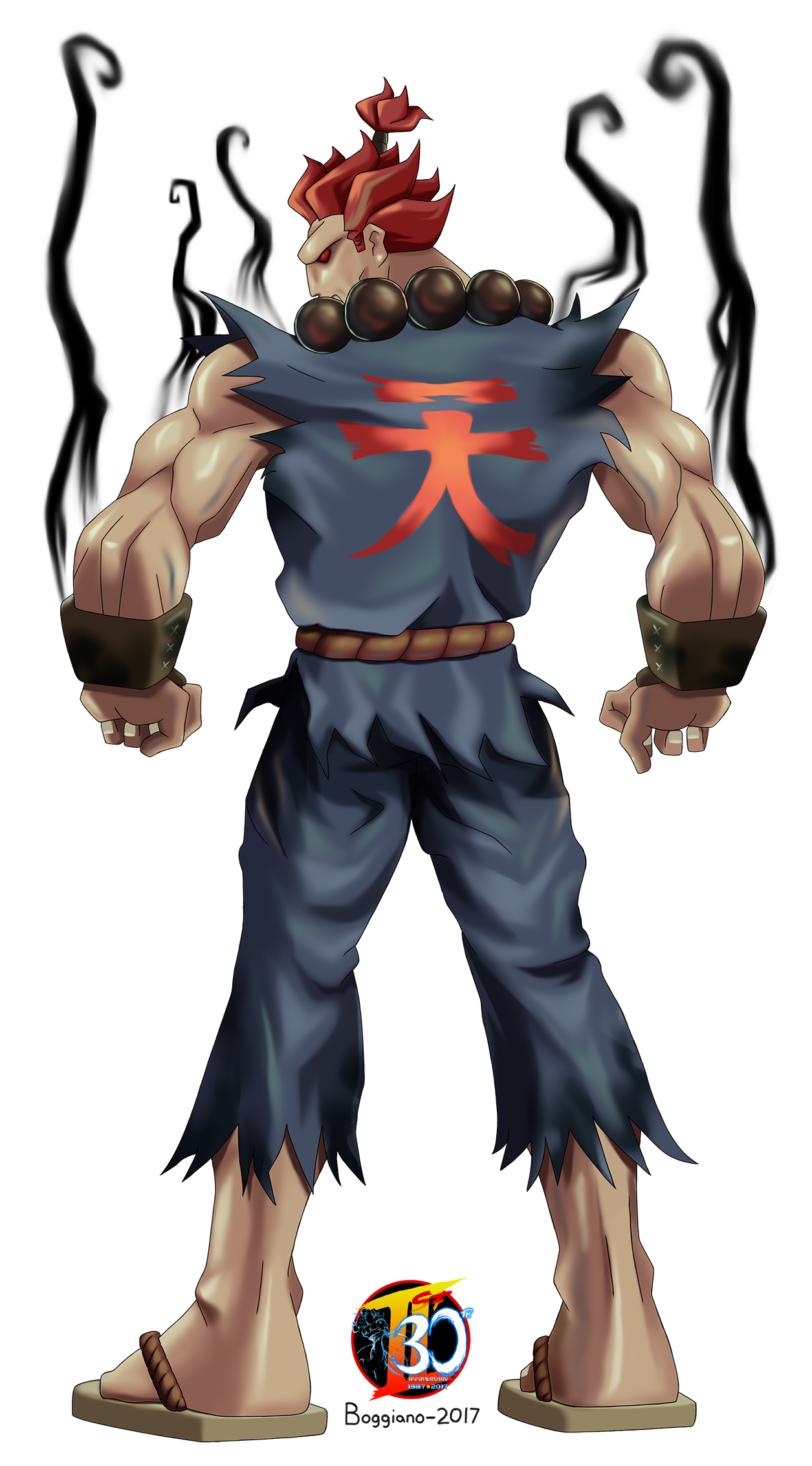 Our Street Fighter 30th Tribute: Akuma the Hidden Boss of Super.