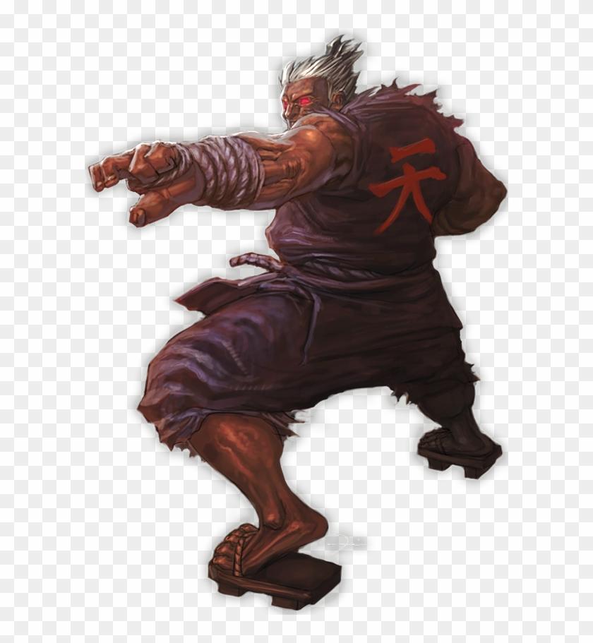 Akuma Street Fighter By Darkeyez07.