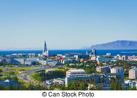 Stock Photos of Akureyri Cathedral.