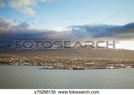 Stock Image of Akureyri x75266135.